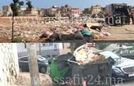 الأزبال تنتشر في أحياء وشوارع الدار البيضاء