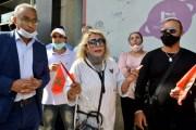 دعم وزارة الثقافة للفنانين... موسيقيون يحتجون أمام مقر الوزارة