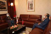 المالكي يستقبل القائم بالأعمال بالنيابة بسفارة دولة قطر
