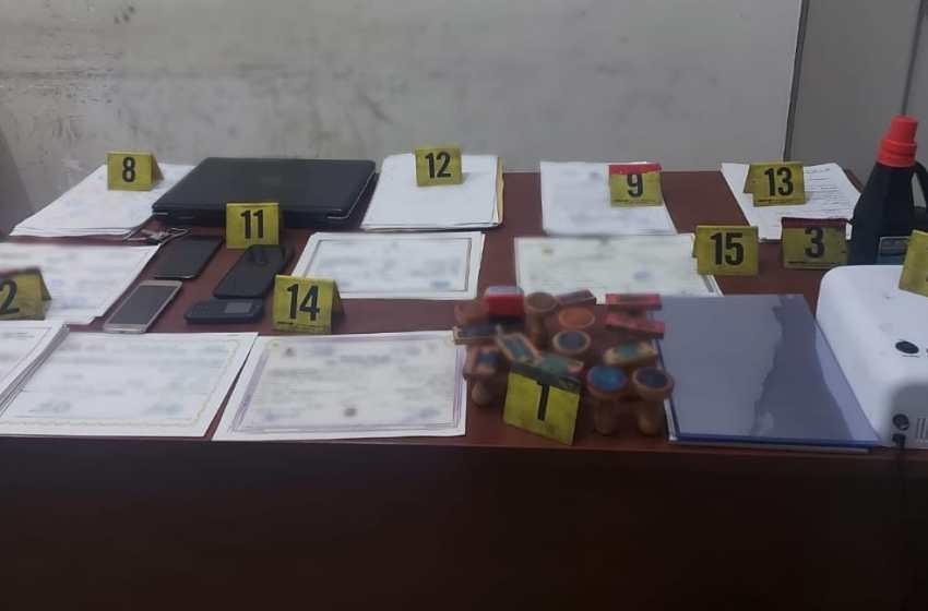 معلومات الديستي تقود أمن برشيد للإطاحة بشخصين يبيعان شواهد مدرسية مزورة