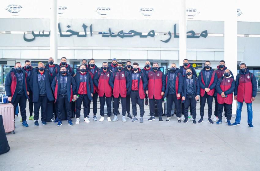 المنتخب الوطني لكرة السلة يتوجه إلى تونس