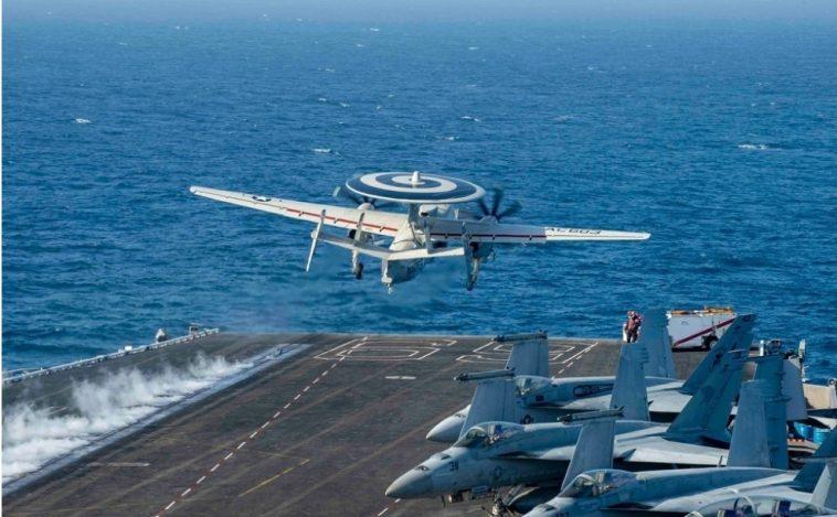 تشارك فيها حاملة الطائرات إيزنهاور.. مناورات بحرية ضخمة بين المغرب وأمريكا