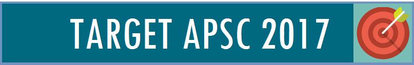 TARGET apsc 2017 - Assam exam
