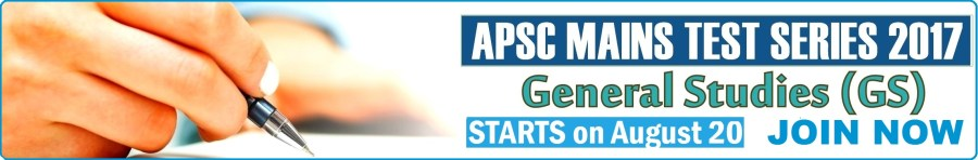 APSC Mains Test Series -  GS Paper