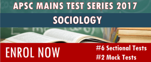 APSC Mains test series Sociology - Assam exam