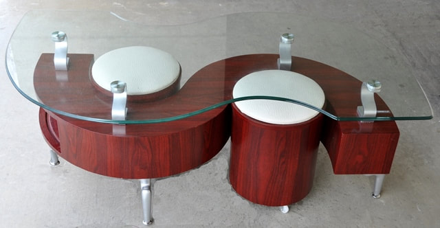 Coffee Table Removable Tops