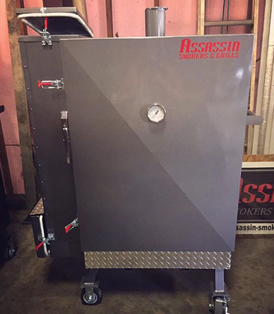 gravity fed insulated smokers