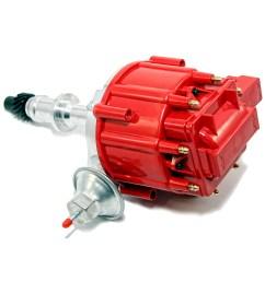 pontiac v8 hei red cap distributor 65k coil [ 1000 x 1000 Pixel ]