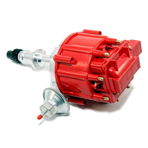 small resolution of pontiac v8 hei red cap distributor 65k coil