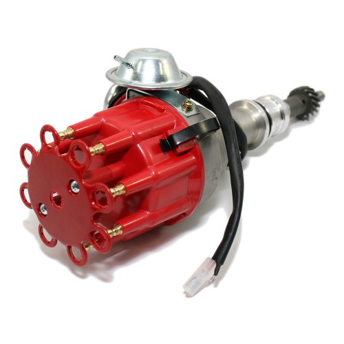 small resolution of small block ford ready to run red cap distributor