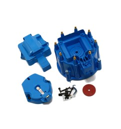 hei distributor cap with rotor blue [ 1000 x 1000 Pixel ]