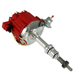 small block ford hei red cap distributor 65k coil [ 1000 x 1000 Pixel ]