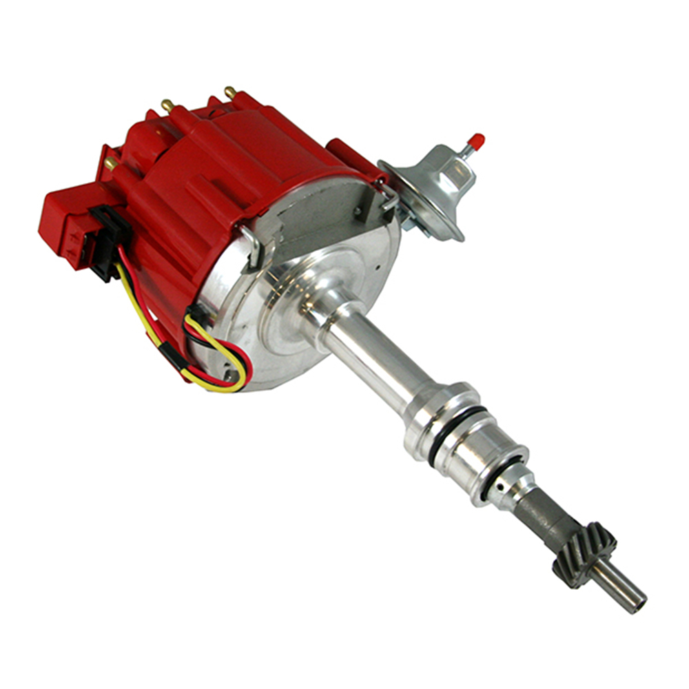 medium resolution of small block ford hei red cap distributor 65k coil