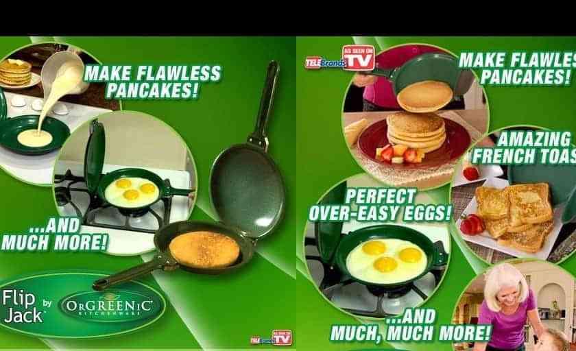 Flip Jack Pancake Pan Offer Seen On TV