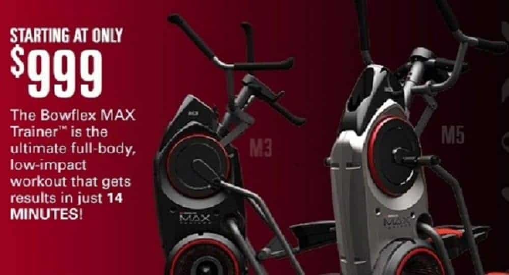 New Bowflex Max Trainer Elliptical and Stepper Machines