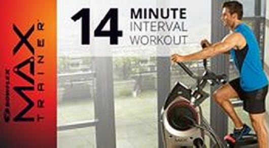 Bowflex Max Trainer - 14 minute workout
