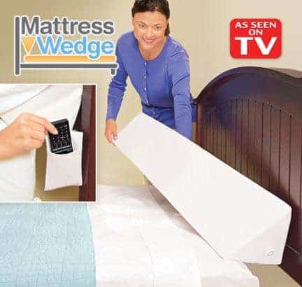 mattress wedge bed topper pillow wedge