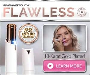 Finishing Touch Flawless As Seen On TV - Facial Hair Remover with Light