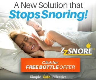 ZZ Snore the Best Snoring Spray Solution FREE Bottle Offer!