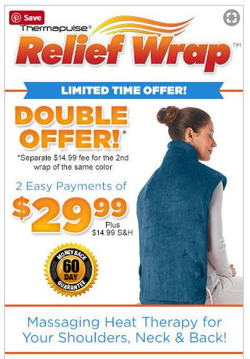 relief wrap offer