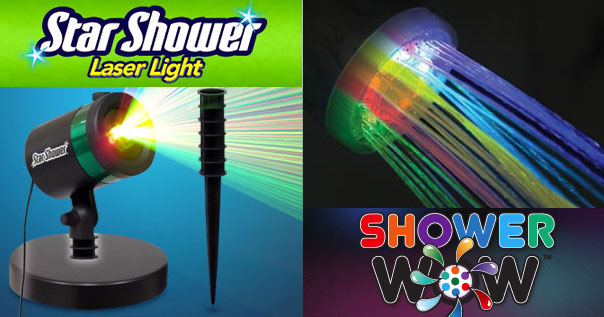 Shower Wow And Star Shower New Product Tuesday