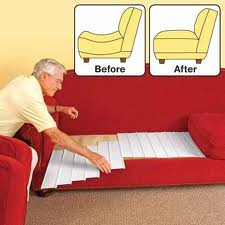 how to fix a sagging sofa bed reclining phoenix az furniture couch cushion support -as seen on tv