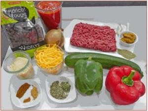 ingrédients soupe texane aux haricots rouges