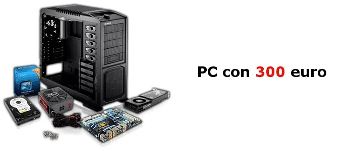 assemblare pc gaming 300