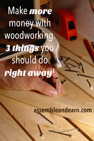 earn more with woodworking