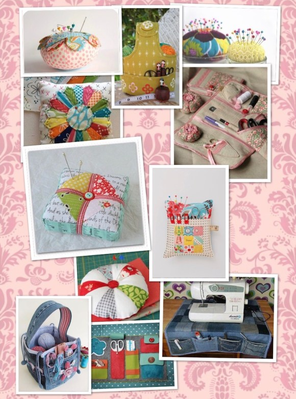 sewing accessories for a sew shop