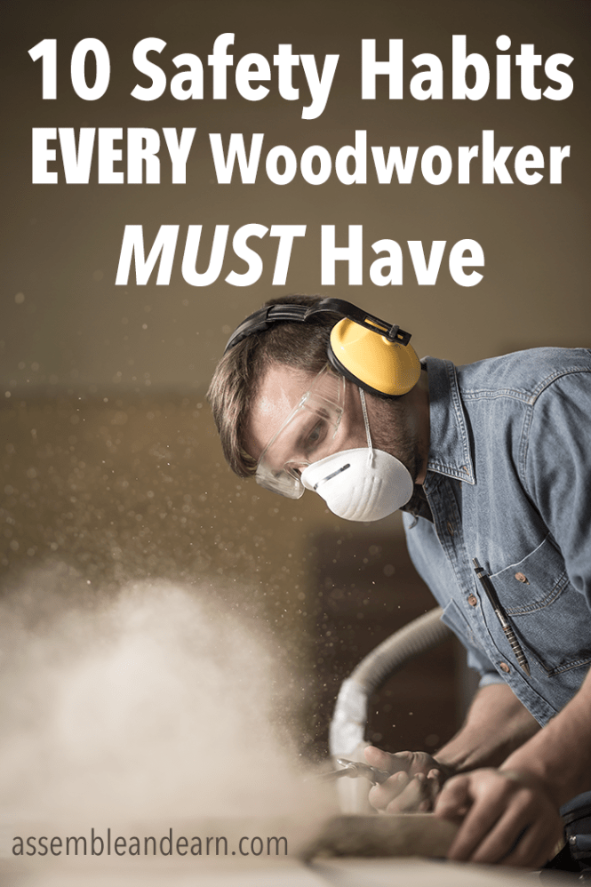 how to stay safe during woodworking