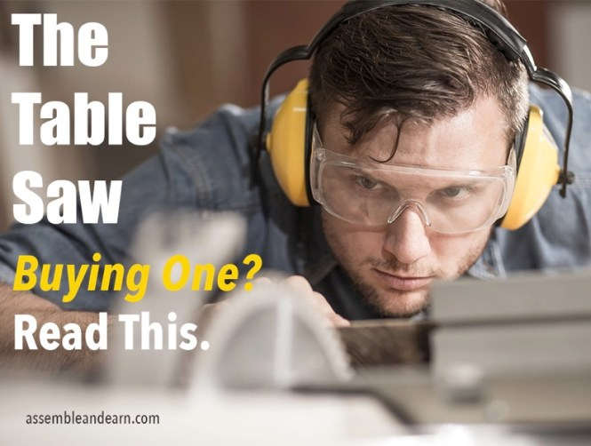 buying and using a table saw