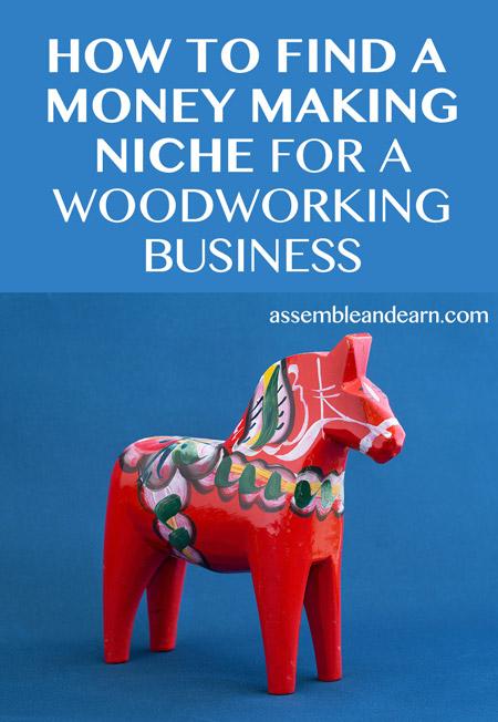 Woodworking business niche