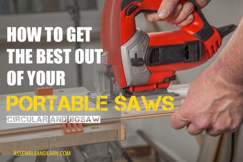 how to use portable saws