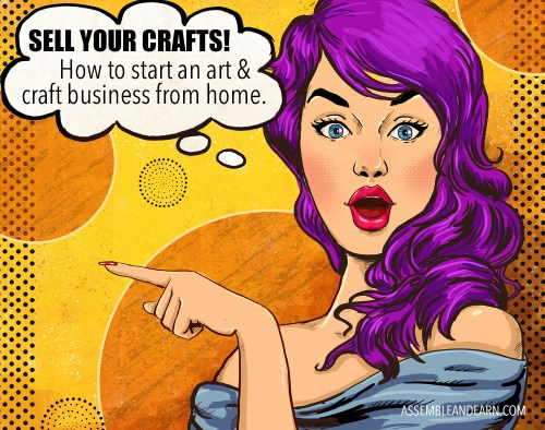 start a craft business