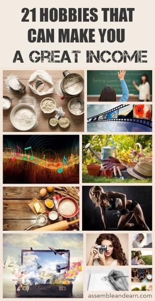 21 money making hobbies