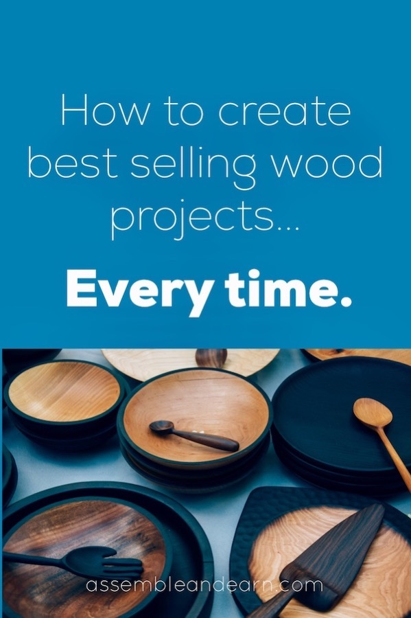 best selling niche wood projects
