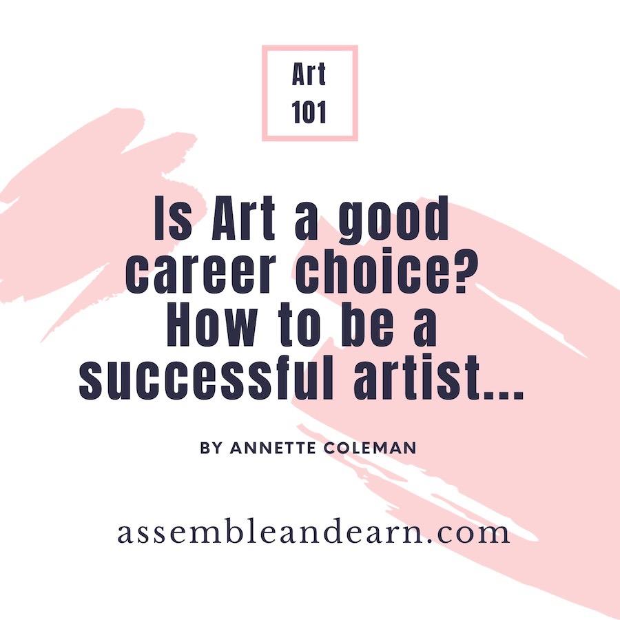 Art career choice