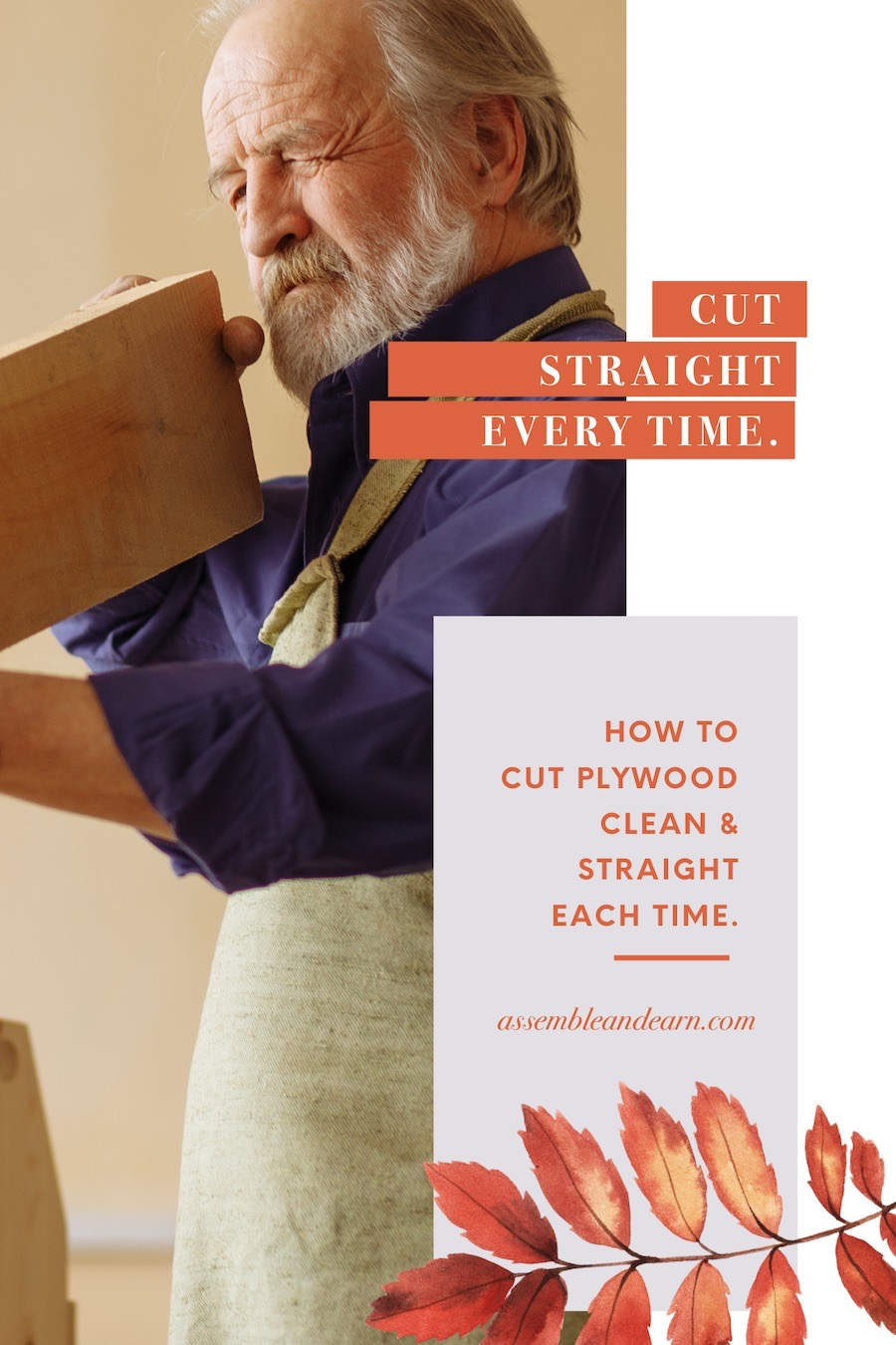 how to cut plywood straight and cleanly easily