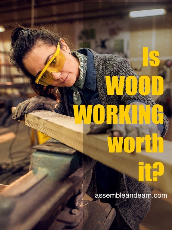 is woodworking a profitable career or business
