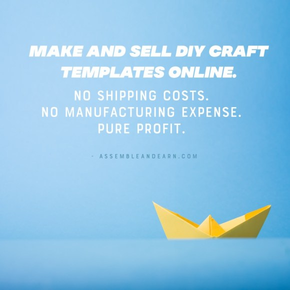 make and sell diy craft template