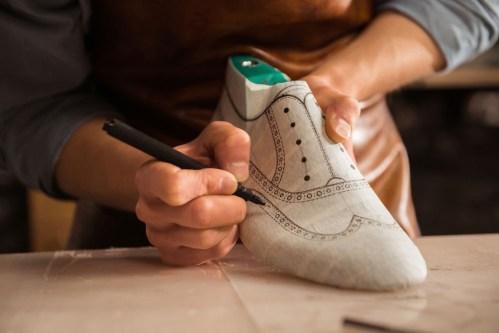 custom shoe making