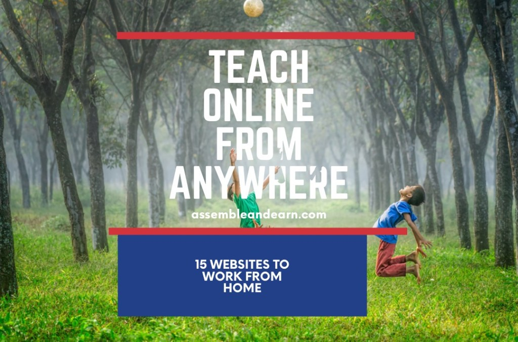 How To Become An Online Teacher And Instructor – Work And Earn From Home As A Remote Educator