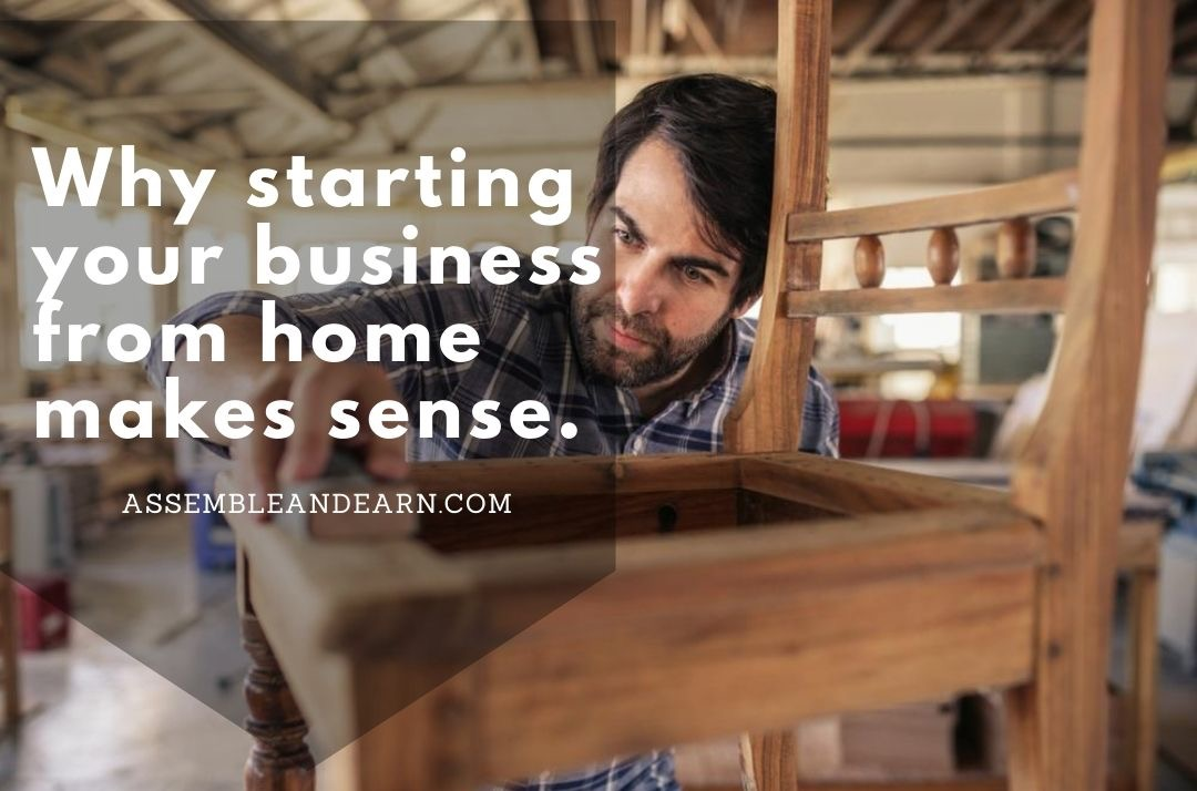 6 Reasons to Start a Woodworking  Business From Your Garage