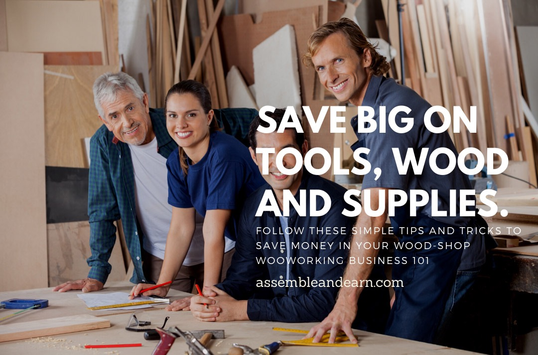 How To Save Enormous Costs On Wood, Tools and Woodworking Supplies