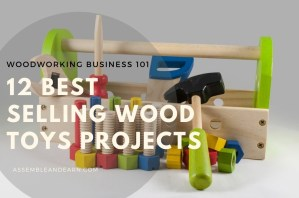 Make 12 Best Selling Wood Toys In Your Workshop