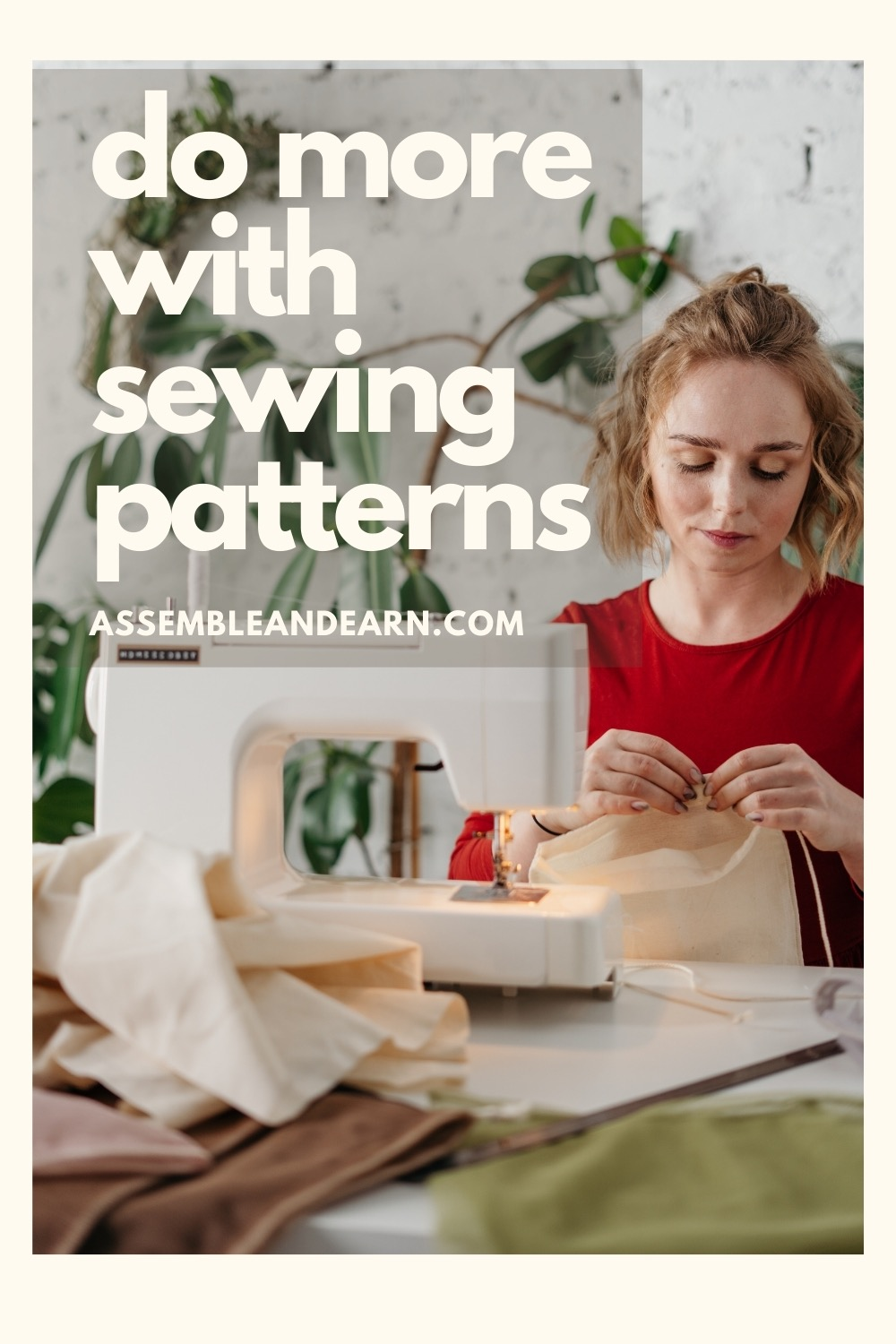 Sewing patterns uses