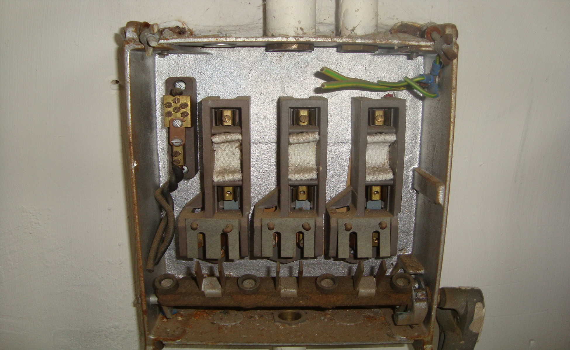 hight resolution of asbestos fuse box