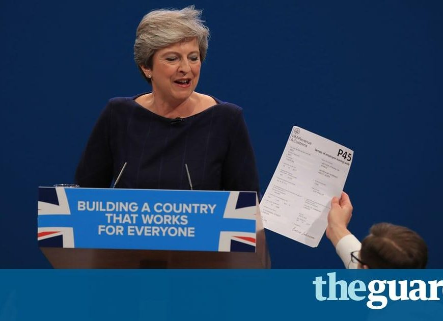 May offers the British dream but speech turns into a nightmare