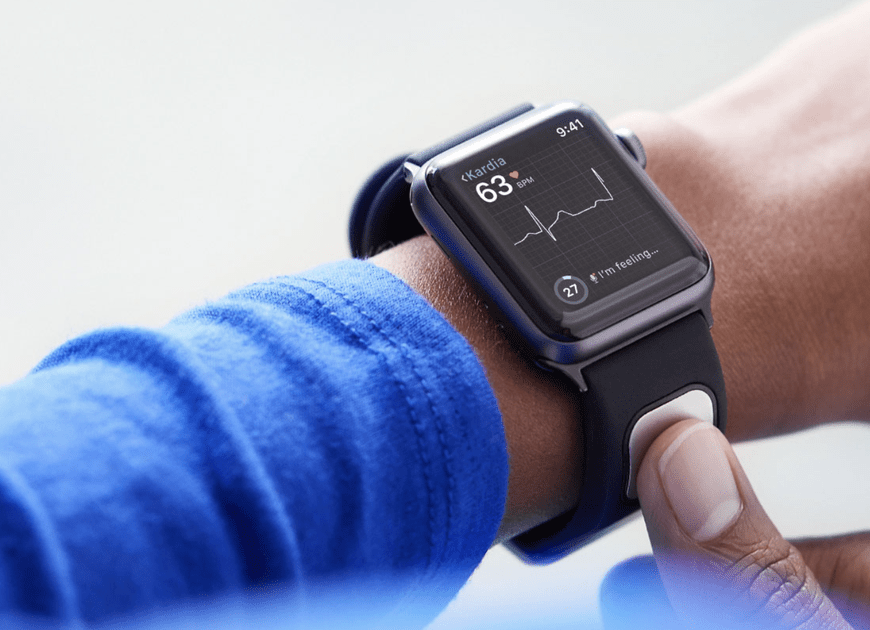 The FDA just cleared an Apple Watch band that measures your heart's electrical activity